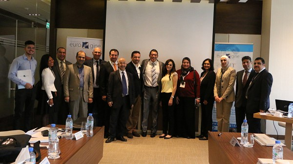 Training distributors in the Middle East